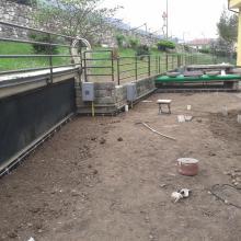 Rifacimento terrazzo di copertura a verde con manti sintetici pvc img_6